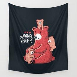 Mama Bear Wall Tapestry