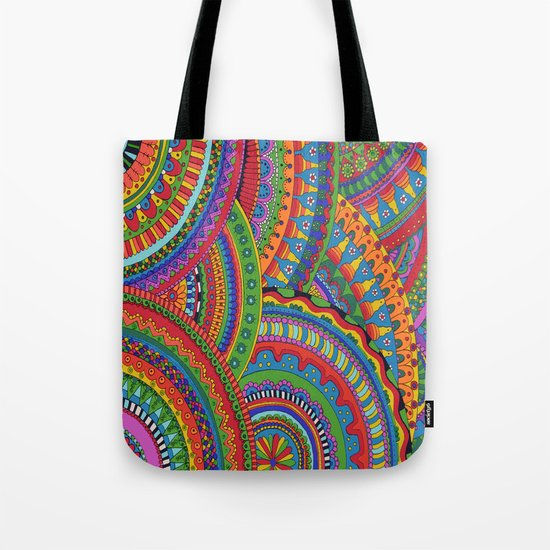 My brain happy Tote Bag