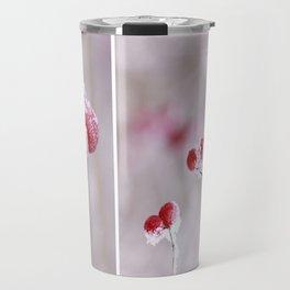 Red Berries Quadro Travel Mug