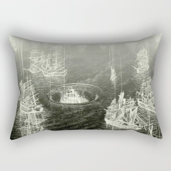 """Fog Bank"" Rectangular Pillow"