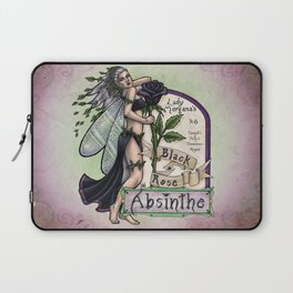 Black Rose Absinthe by Bobbie Berendson W Laptop Sleeve