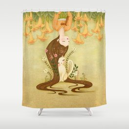 Flower shade Shower Curtain