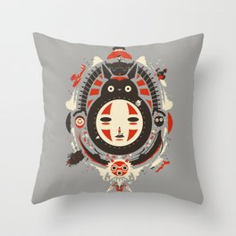 A New Wind Throw Pillow