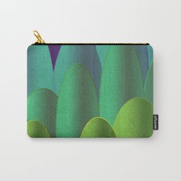Green Hedges Carry-All Pouch