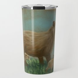 Capybaras Travel Mug
