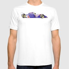 Senna Mens Fitted Tee MEDIUM White