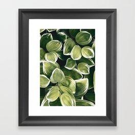plant 201 Framed Art Print
