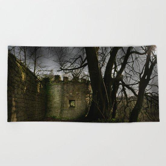 Castles in my Mind Beach Towel