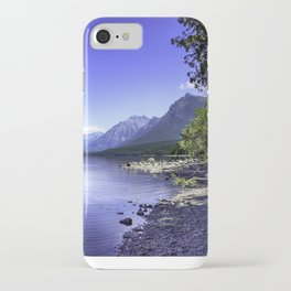 McDonald Lake In Glacier National Park iPhone Case