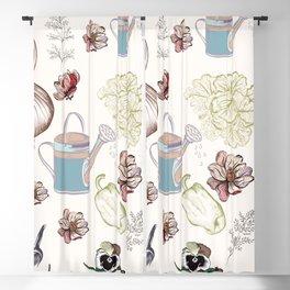 Cozy kitchen garden Blackout Curtain