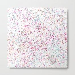 Colorful Sprinkles Metal Print