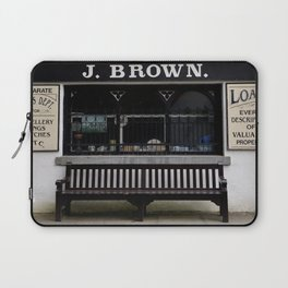 Store Front From the Past Laptop Sleeve
