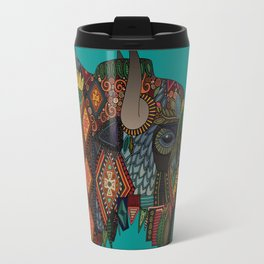bison teal Travel Mug