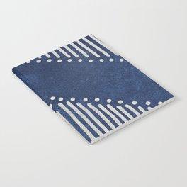 Indigo Deco Chev Notebook