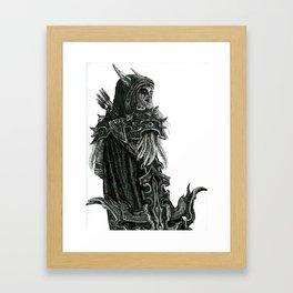 Queen of Undead Framed Art Print