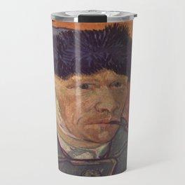 Vincent van Gogh's Self-Portrait 3 Travel Mug