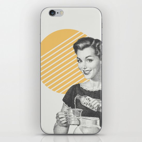 When Life Hands You Lemon Juice Concentrate -- Make Lemonade. iPhone & iPod Skin