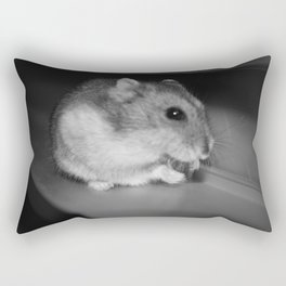 Pursuit of the Sunflower Seed Rectangular Pillow