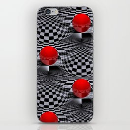 3D abstraction -20- iPhone Skin