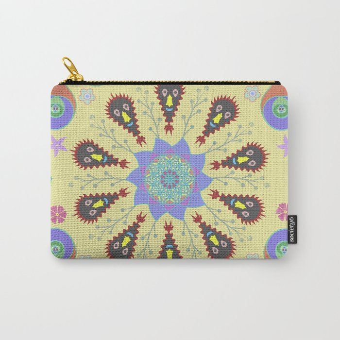Monster Mandala Carry-All Pouch
