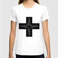 cross T-shirts featuring cross by Кaterina Кalinich