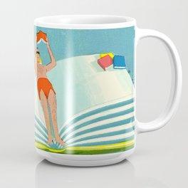 Summer Reading on the Lake Coffee Mug