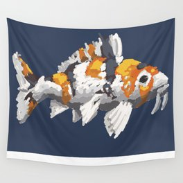Koi Study Wall Tapestry