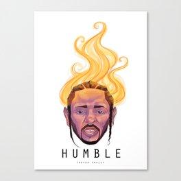 Humble - Kendrick Lamar Canvas Print