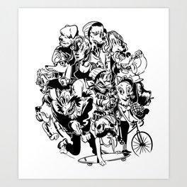 The Arthounds Art Print