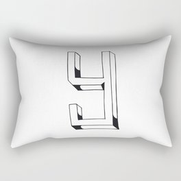 The Alphabetical Stuff - Y Rectangular Pillow