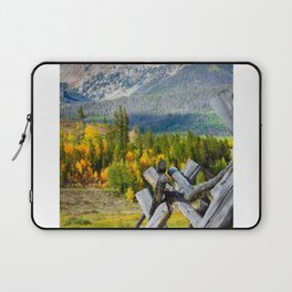 Beautiful Mountain Pictures of Colorado Laptop Sleeve