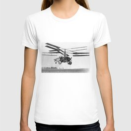 Helicopter Invention T-shirt