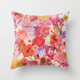 Super Bloom Throw Pillow