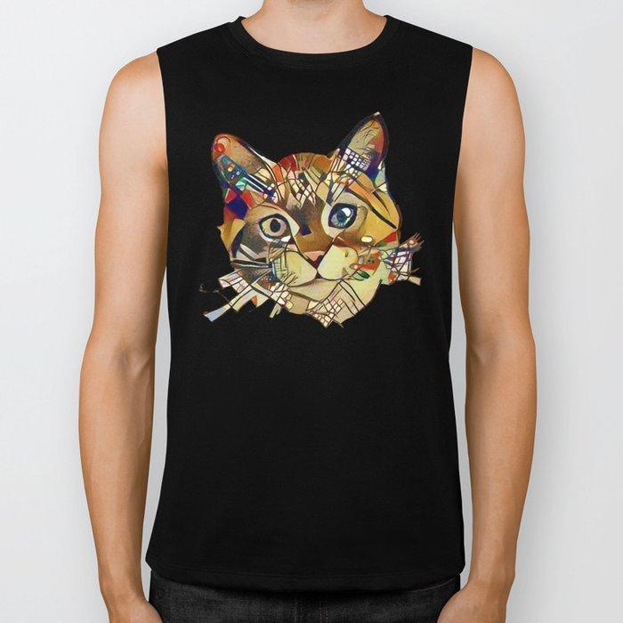 Cat Basil Biker Tank