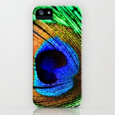 In the Peacock Mood iPhone (5, 5s) Slim Case