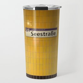 Berlin U-Bahn Memories - Seestraße Travel Mug