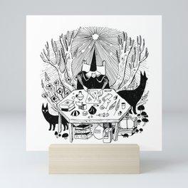 Magician Mini Art Print
