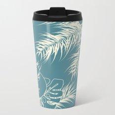Tropical pattern 038 Metal Travel Mug