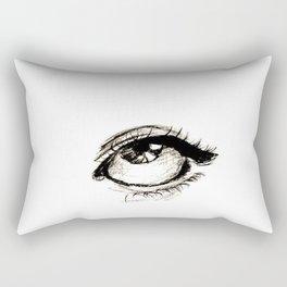 Eye. Rectangular Pillow
