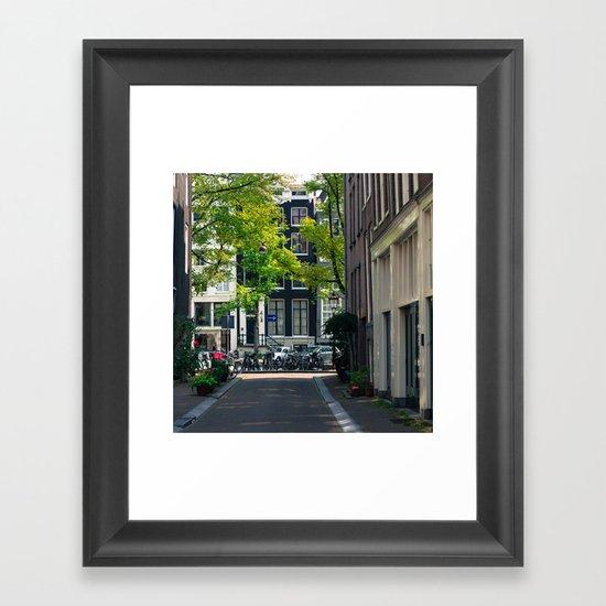 Streetlife  Framed Art Print