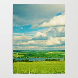 Seneca Lake Wine Road Poster