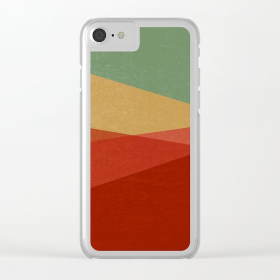 Stripe IX Modern Century Clear iPhone Case