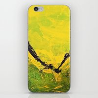 flight iPhone & iPod Skins featuring Flight by RvHART
