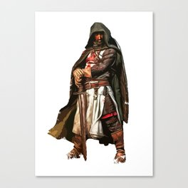 Templar sergeant Canvas Print