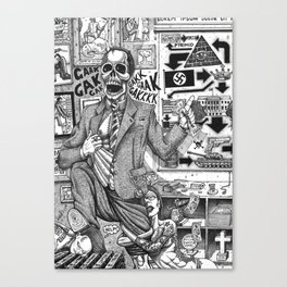 LIDS Canvas Print
