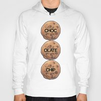 cookie Hoodies featuring Cookie by Spooky Dooky