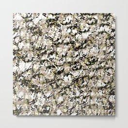 Shattered Floral Metal Print