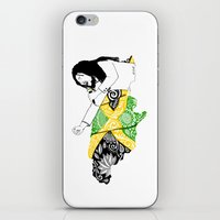 jamaica iPhone & iPod Skins featuring Jamaica -  Freedom Time by Art & Be