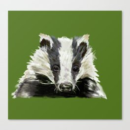 Animals endangered by HS2 (#stophs2) Canvas Print