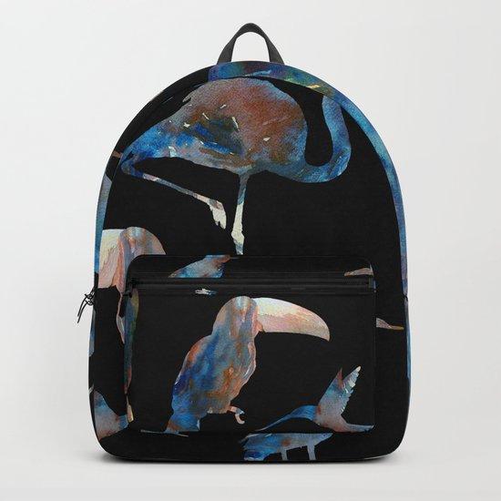 blue bird Backpack